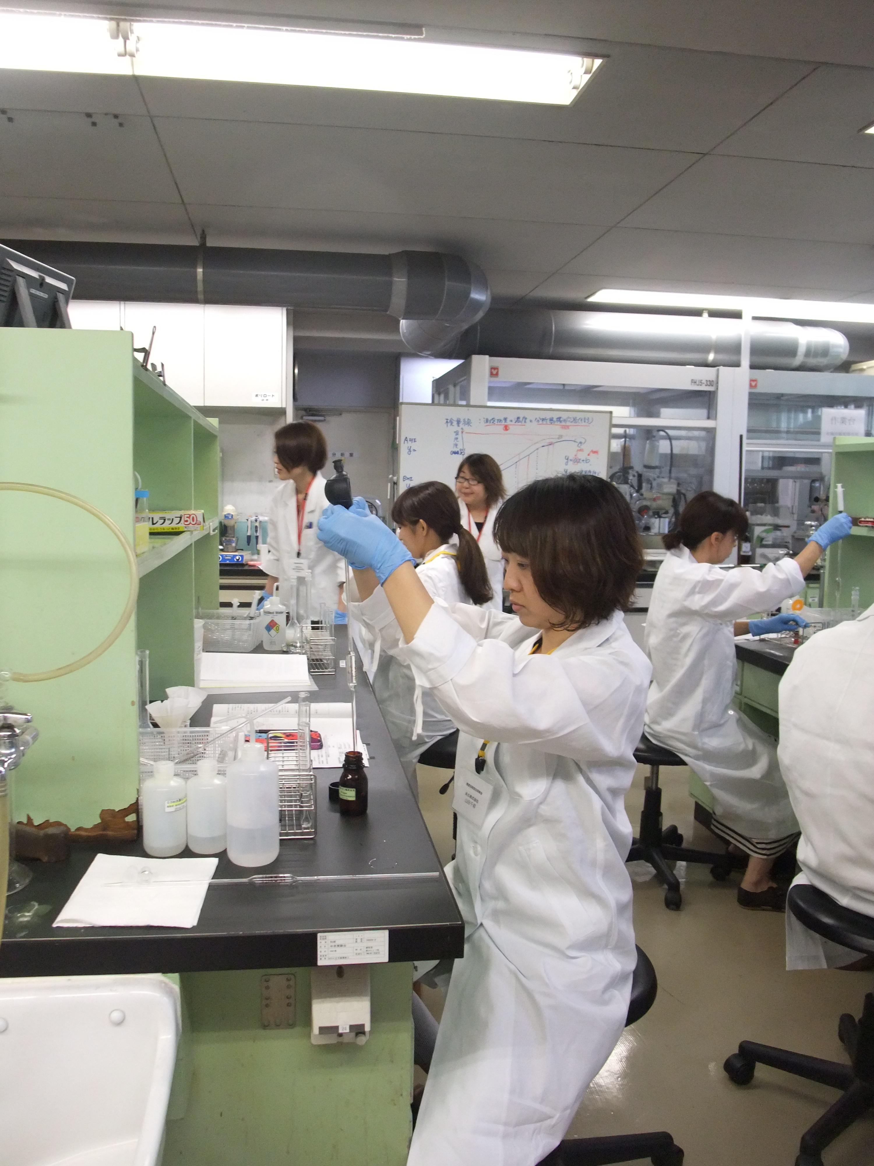 平成30年度第1回検査技術実技研修会開催終了